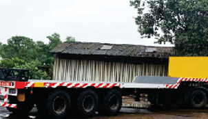 SEMI LOW BED TRAILER